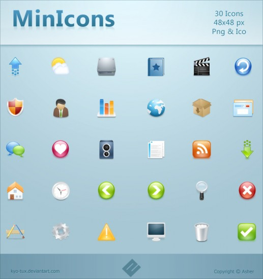 MinIcons_by_kyo_tux