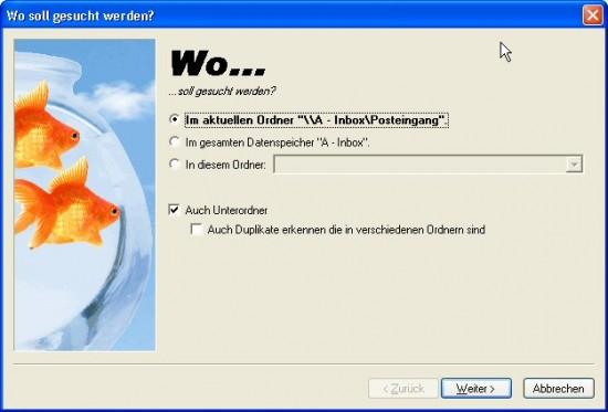 Outlook Duplikate Wo