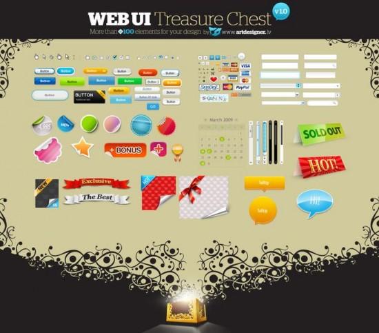WEB UI Treasure Chest