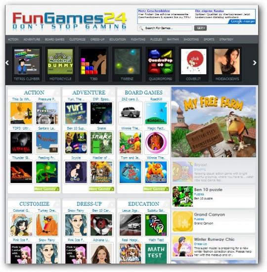 Fungames Theme