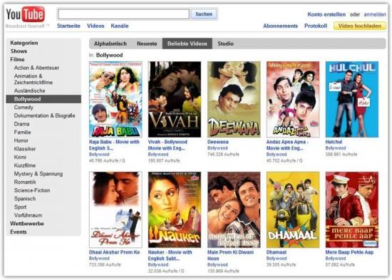 bollywood filme online kostenlos anschauen