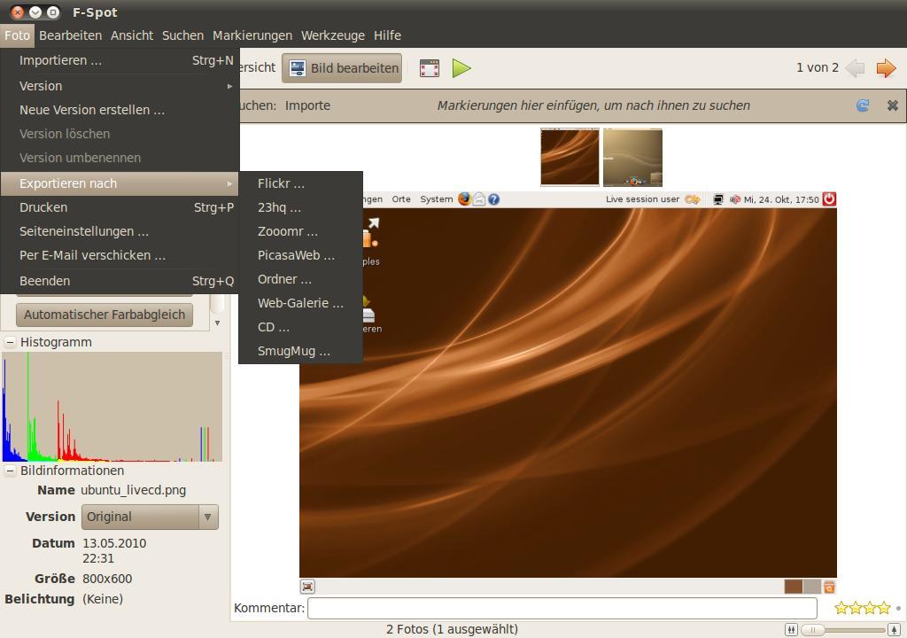 cd verwaltung linux: