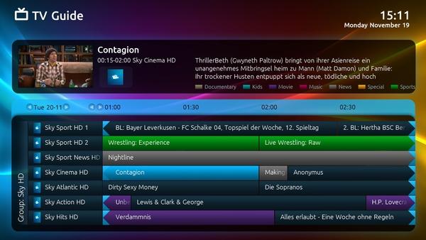 MediaPortal TV EPG