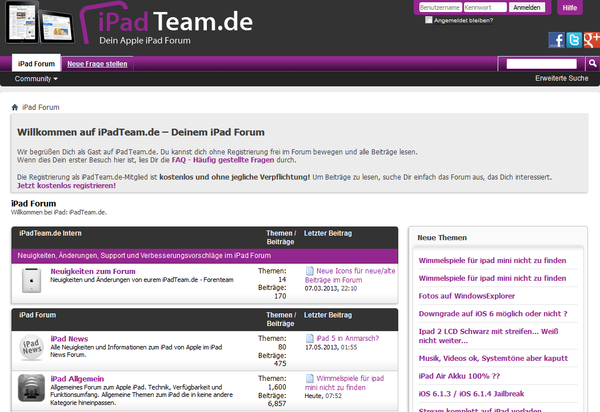 ipadteam-forum