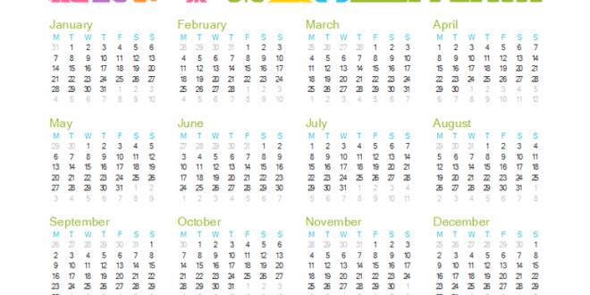 Excel 2013 Kalender Vorlage