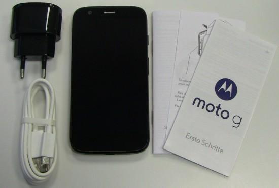 Motorola Moto G Lieferumfang