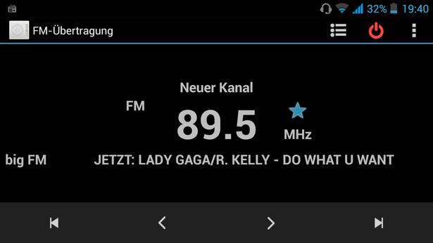 Wiko DARKFULL Radio mit RDS