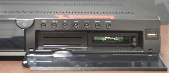 Xtrend ET9500 Frontpanel