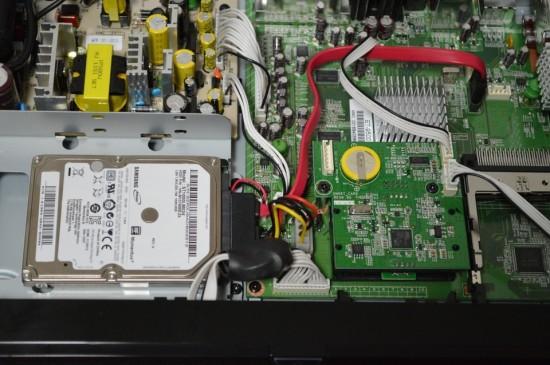 Xtrend ET9500 Festplattenrahmen Einbauen
