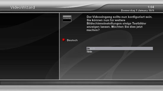 Xtrend ET9500 VideoWizard Testbilder