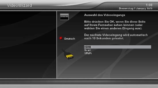 Xtrend ET9500 Videoeingang