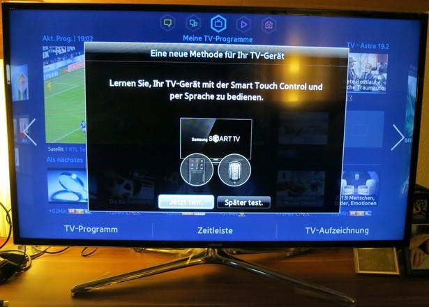 Samsung UExxF6470 Einstellung Eingabemethode