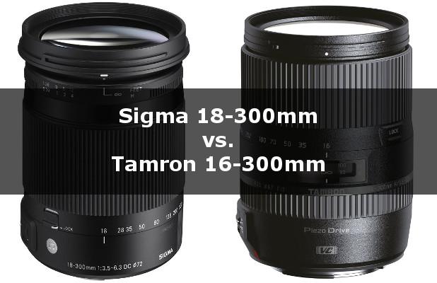 Sigma oder Tamron Objektiv
