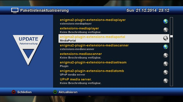 OpenXTA MediaPortal Installieren
