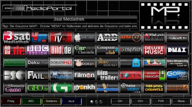 OpenXTA-MediaPortal