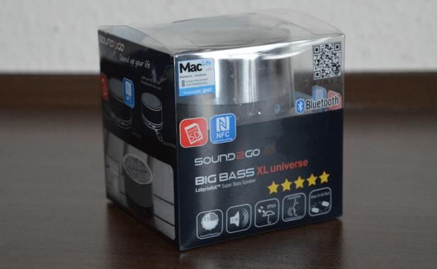 SOUND2GO BIGBASS XL Universe - Verpackung