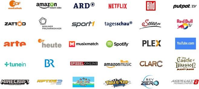 Amazon Fire TV - Apps