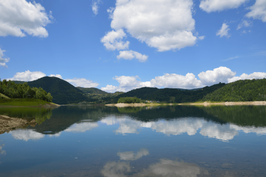 Zaovine Lake Spiegel