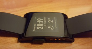 Pebble Smartwatch Ladekontakte