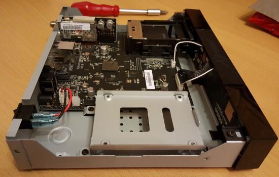 Xtrend ET 7500 Festplatte