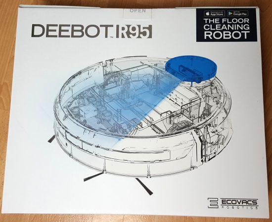 Ecovacs Deebot R95 Verpackung