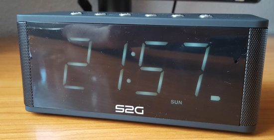 S2G Wake Up - Display