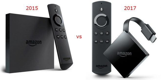 Fire TV 2015 vs. 2017