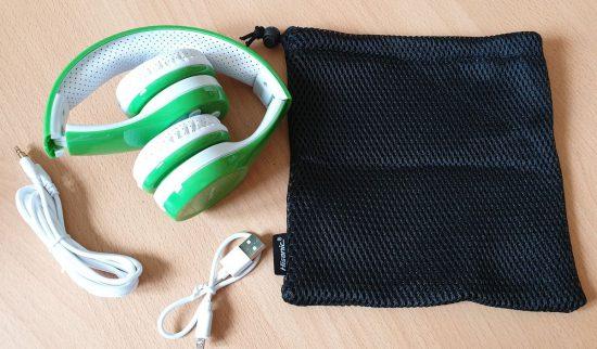 Hisonic - Bluetooth Kopfhörer für Kinder - Lieferumfang