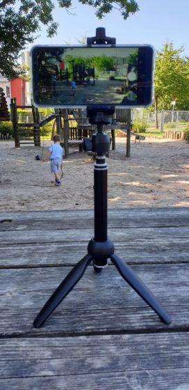 Selfie Stick / Stativ mit Fernbedienung von Wevon